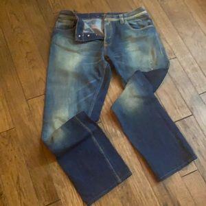Nudie Jean Co 36x34 organic denim jeans